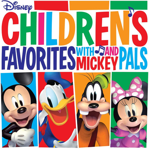 Various Artists/Children's Favorites with Mickey and Pals (Red Vinyl) [LP]