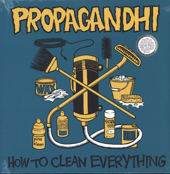 Propagandhi/How To Clean Everything (20th Anniversary Edition) [LP]
