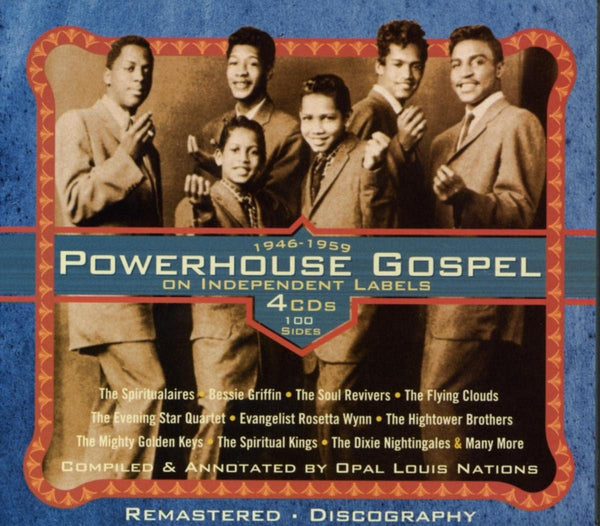 1946 - 1959 Powerhouse Gospel/4CD Independent Labels [CD]