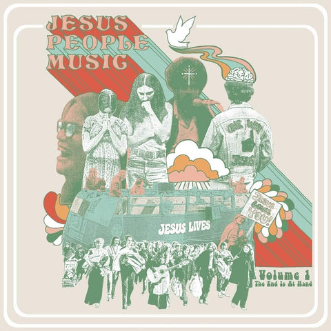 Various Artists/Jesus People Music Vol. 1: The End Is At Hand (Wine Coloured Vinyl) [LP]