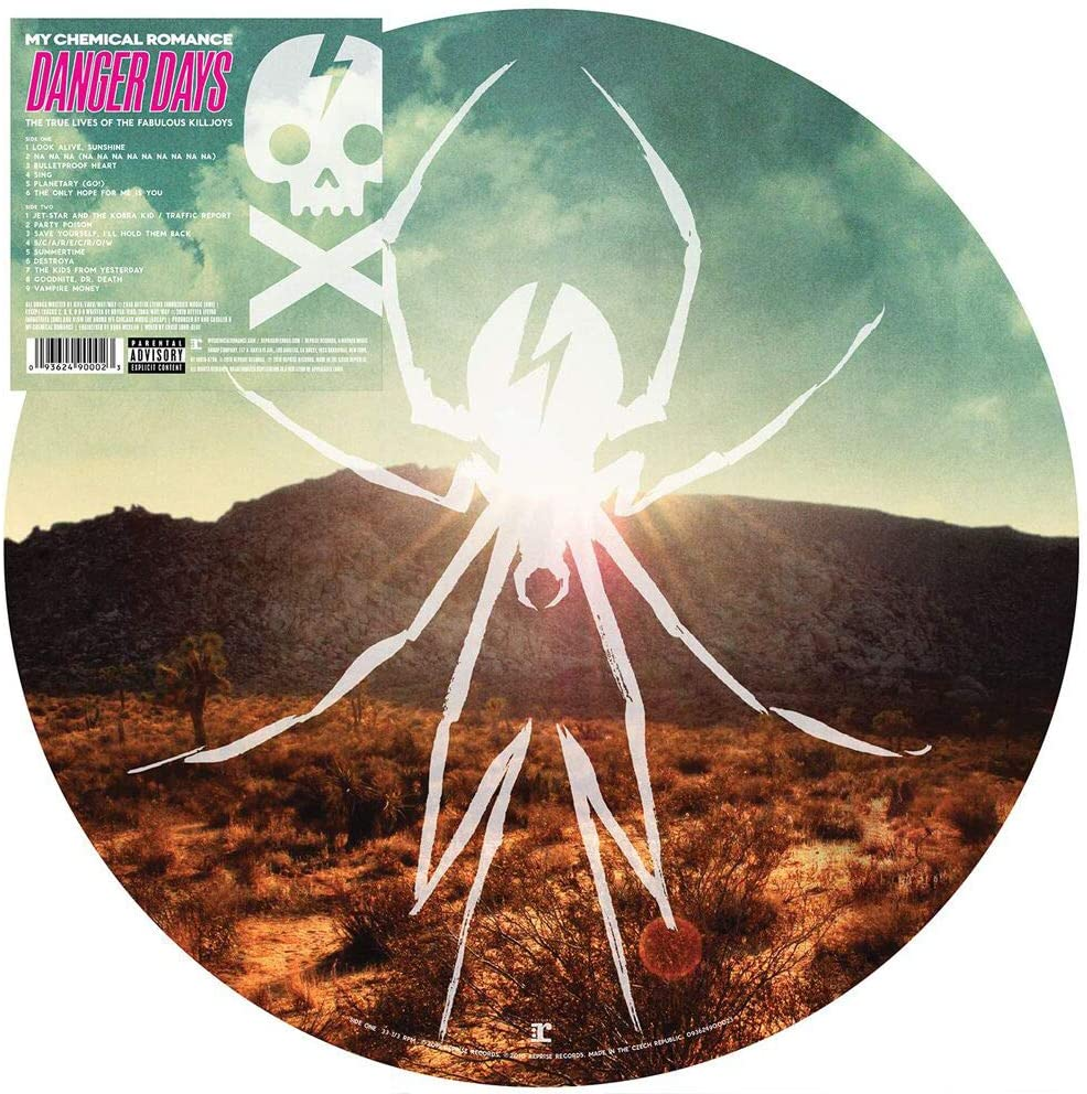 My Chemical Romance/Danger Days (Picture Disc) [LP]