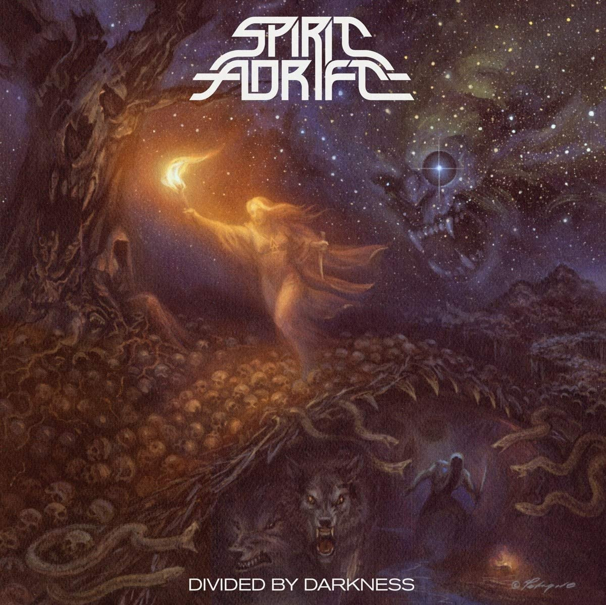Spirit Adrift/Divided By Darkness [LP]