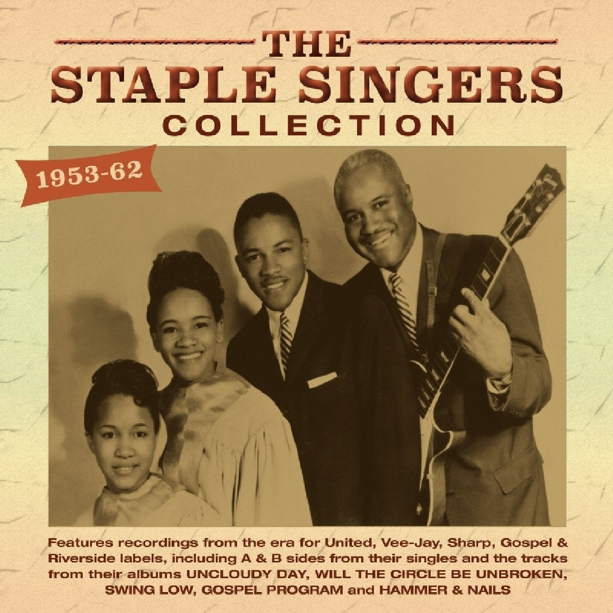 Staple Singers, The/1953 - 1962 Collection [CD]