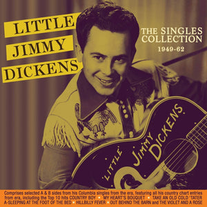 Little Jimmy Dickens/The Singles Collectin 1949 - 1962 [CD]