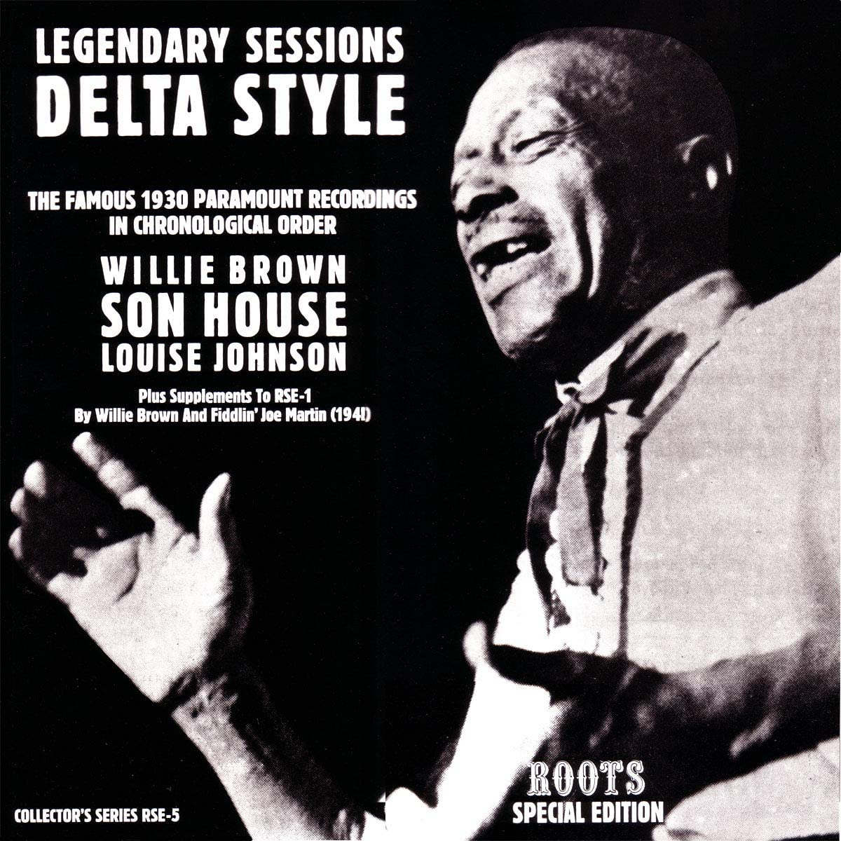 Legendary Sessions/Delta Style [LP]