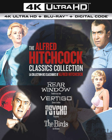 Alfred Hitchcock Classics Collection (4K-UHD) [BluRay]