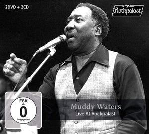 Waters, Muddy/Live At Rockpalast (2DVD/2CD) [CD]