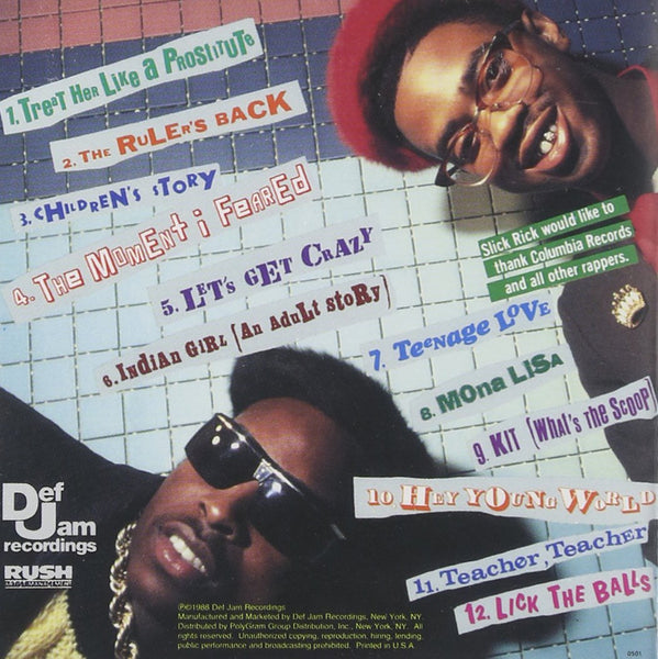 Slick Rick/The Great Adventures Of [CD]