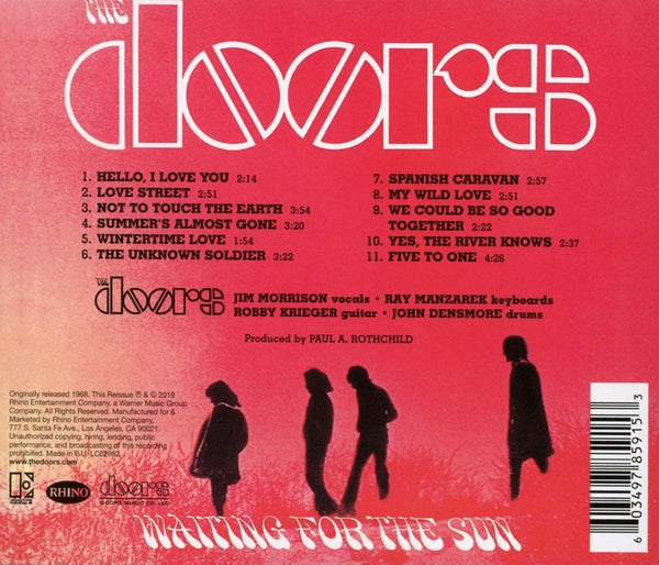 Doors, The/Waiting For The Sun [CD]