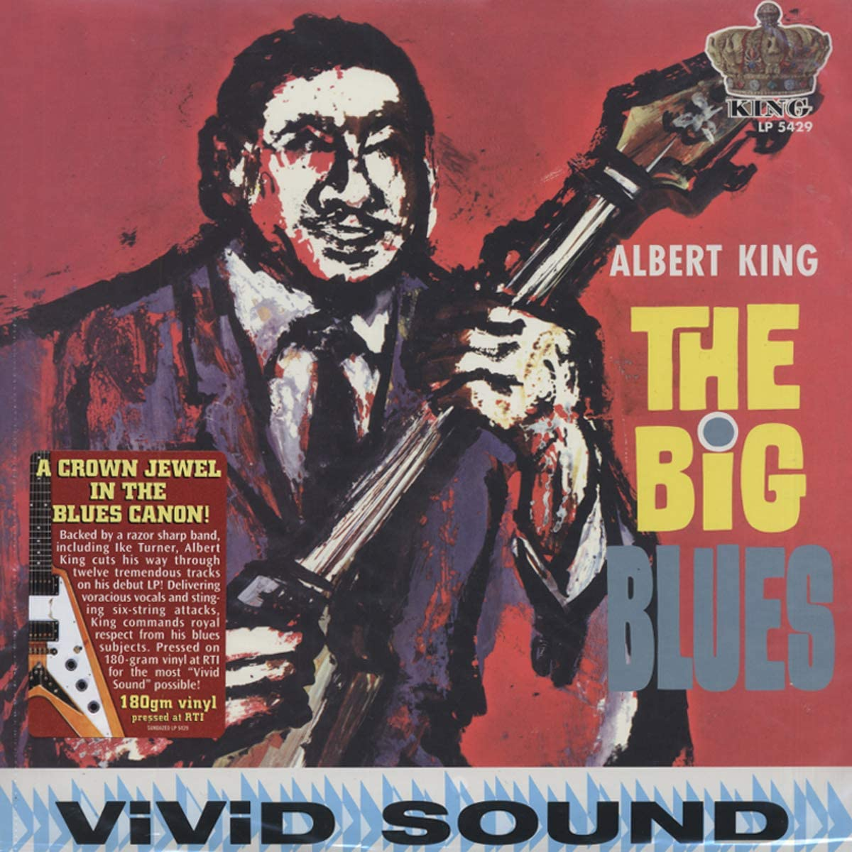 King, Albert/The Big Blues [LP]