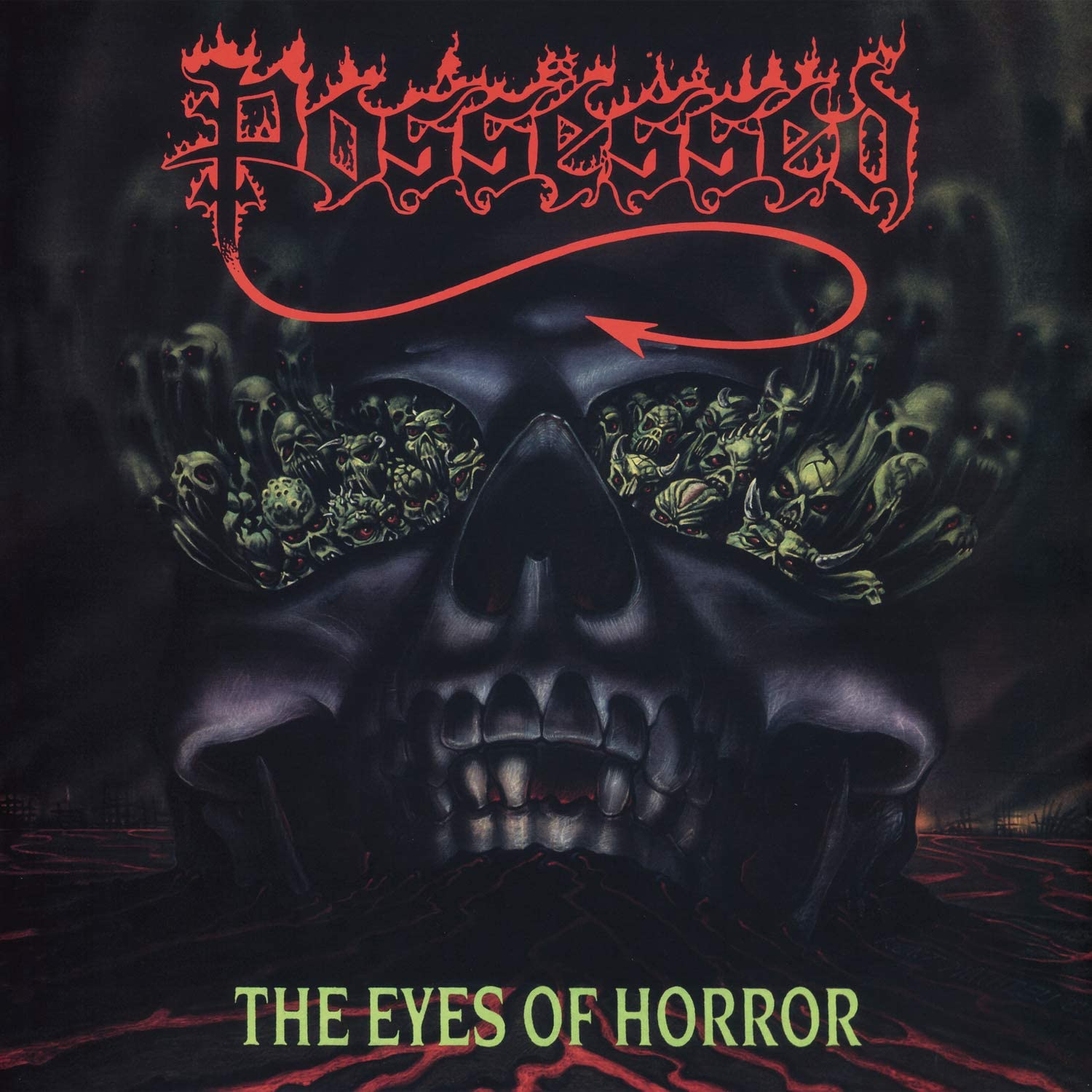 Possessed/The Eyes Of Horror [LP]