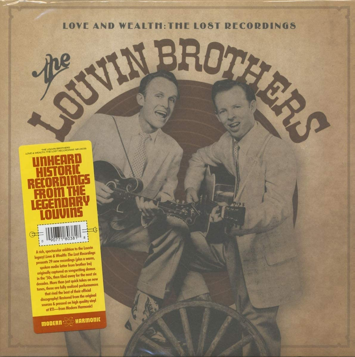 Louvin Brothers, The/Love And Wealth: The Lost Recordings (2LP) [LP]