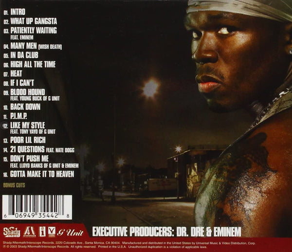 50 Cent/Get Rich Or Die Tryin' [CD]