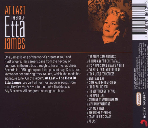 James, Etta/At Last: The Best of [CD]