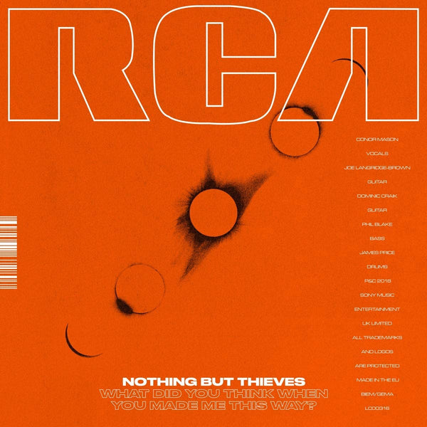 "Nothing But Thieves/What Did You Think When You Made Me This Way [12""EP]"