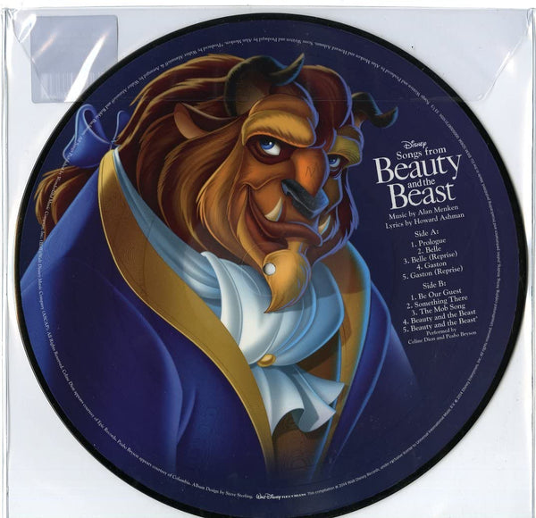 Soundtrack/Beauty and the Beast (Picture Disc) [LP]