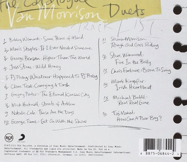 Morrison, Van/Duets: Re-Working The Catalogue [CD]