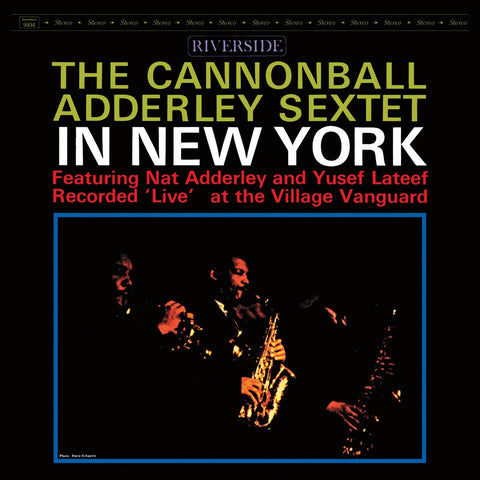 Cannonball Adderley Sextet/In New York [LP]