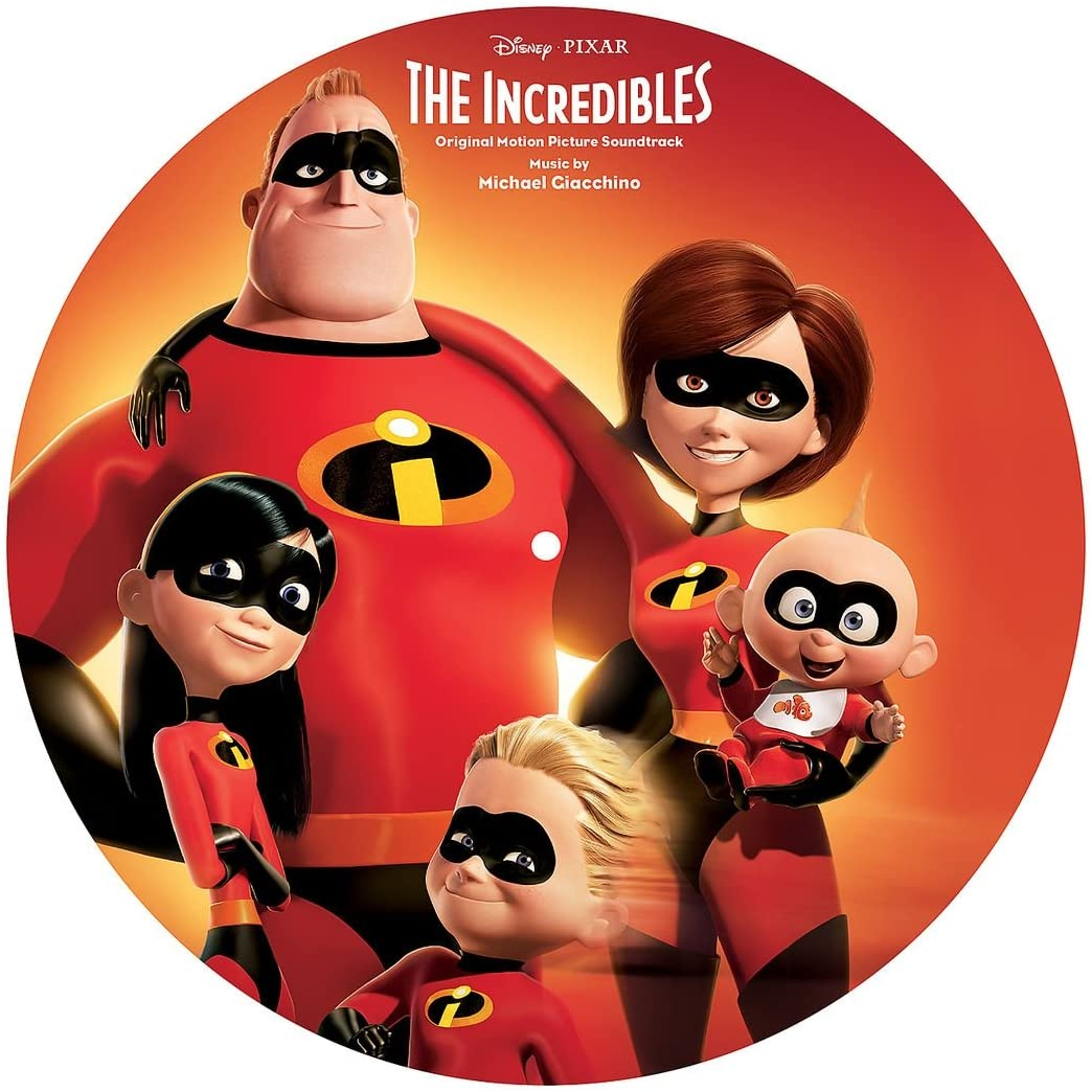Soundtrack/The Incredibles (Picture Disc) [LP]