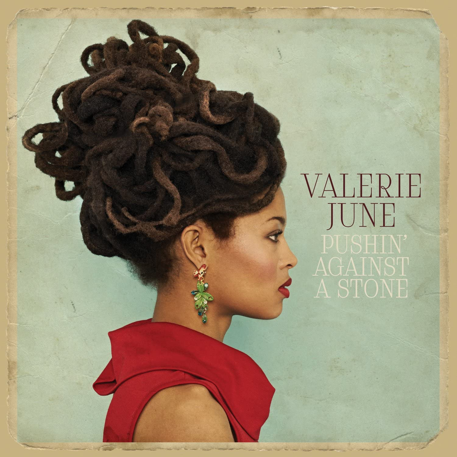 June, Valerie/Pushin' Against A Stone [LP]