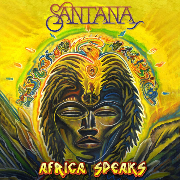 Santana/Africa Speaks [LP]