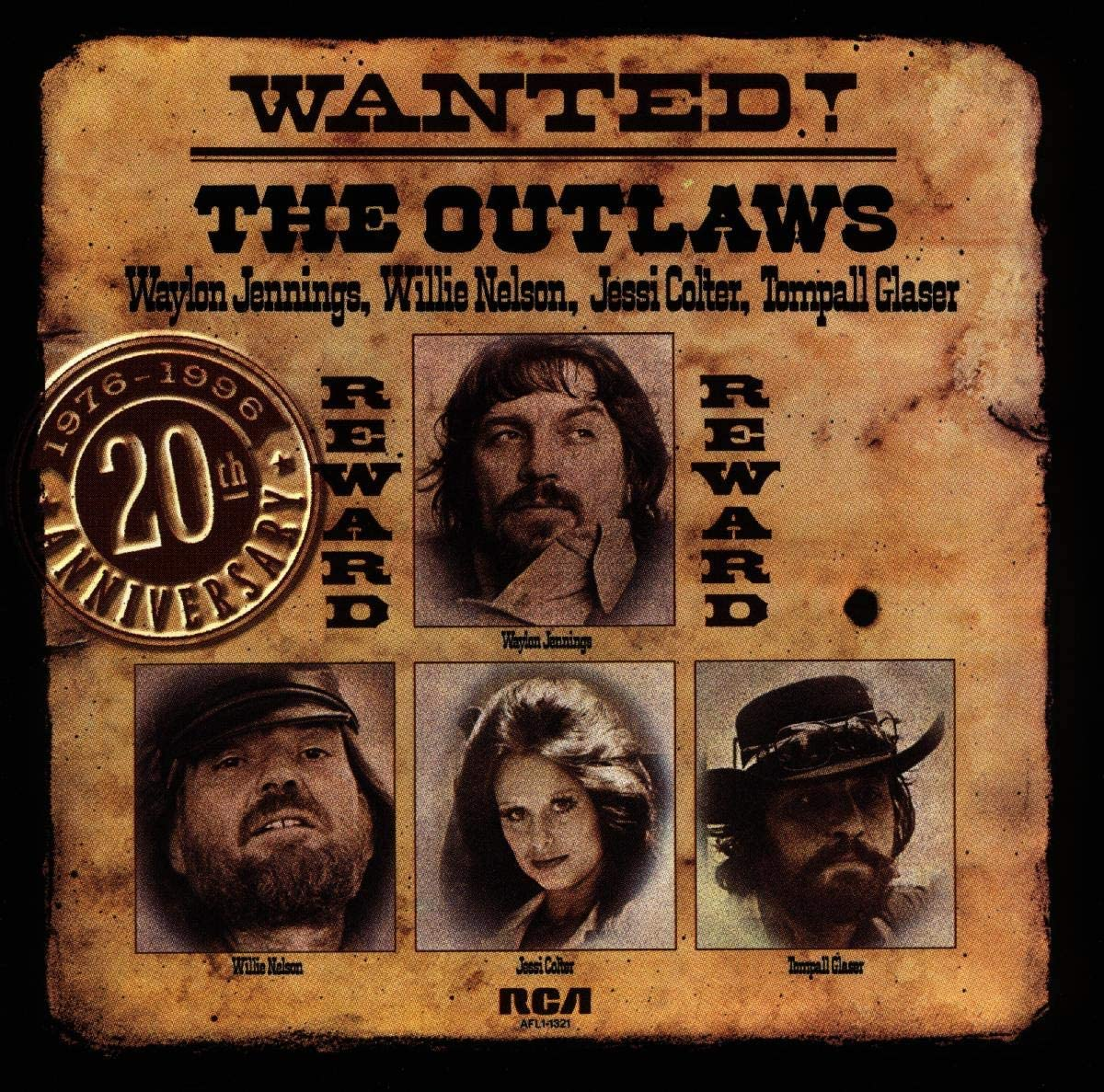 Jennings-Nelson-Colter-Glaser/Wanted! The Outlaws [CD]