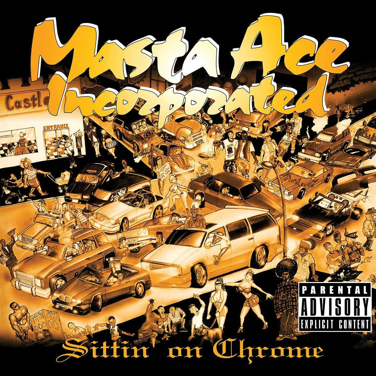 Masta Ace/Sittin' On Chrome [LP]