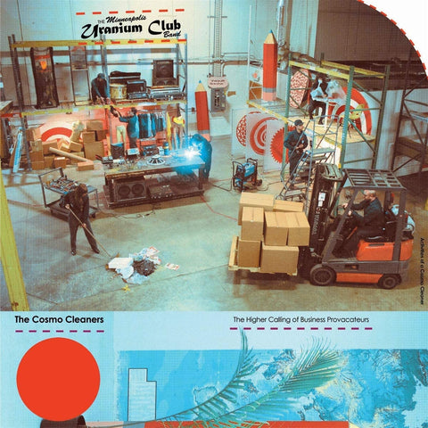Uranium Club/The Cosmo Cleaners [LP]