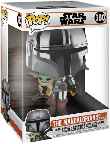 "Pop! Vinyl/The Mandalorian With The Child 10"" [Toy]"