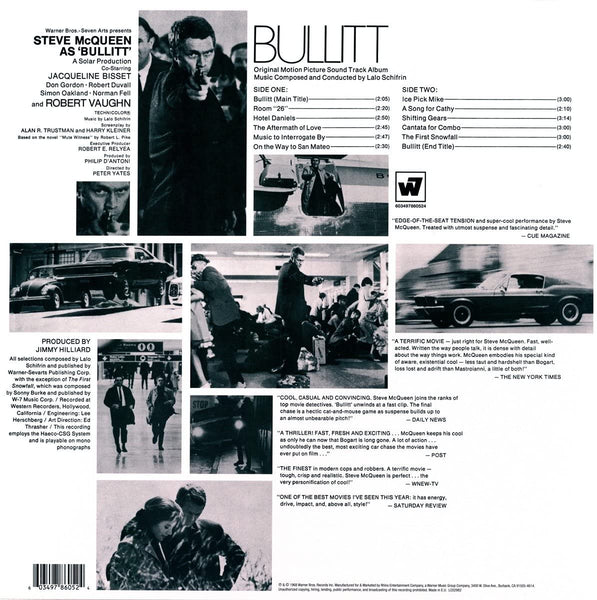 Soundtrack/Bullitt (Orange Vinyl) [LP]