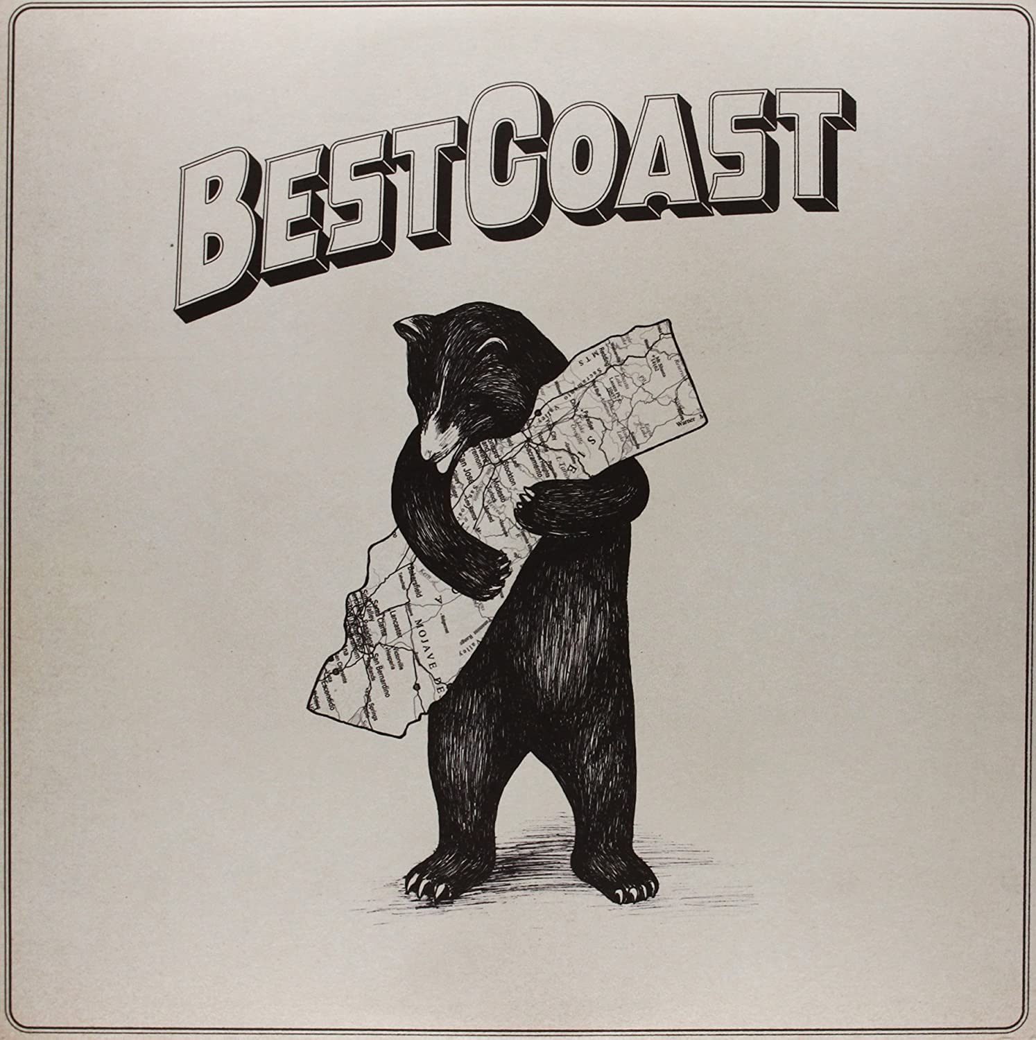 Best Coast/The Only Place [LP]