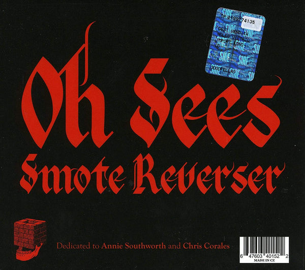 Oh Sees/Smoke Reverser (Thee Oh Sees) [CD]