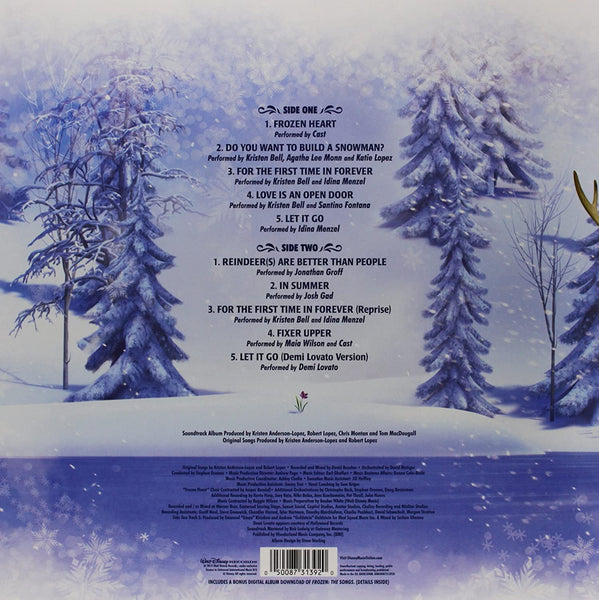 Soundtrack/Songs From Frozen [LP]