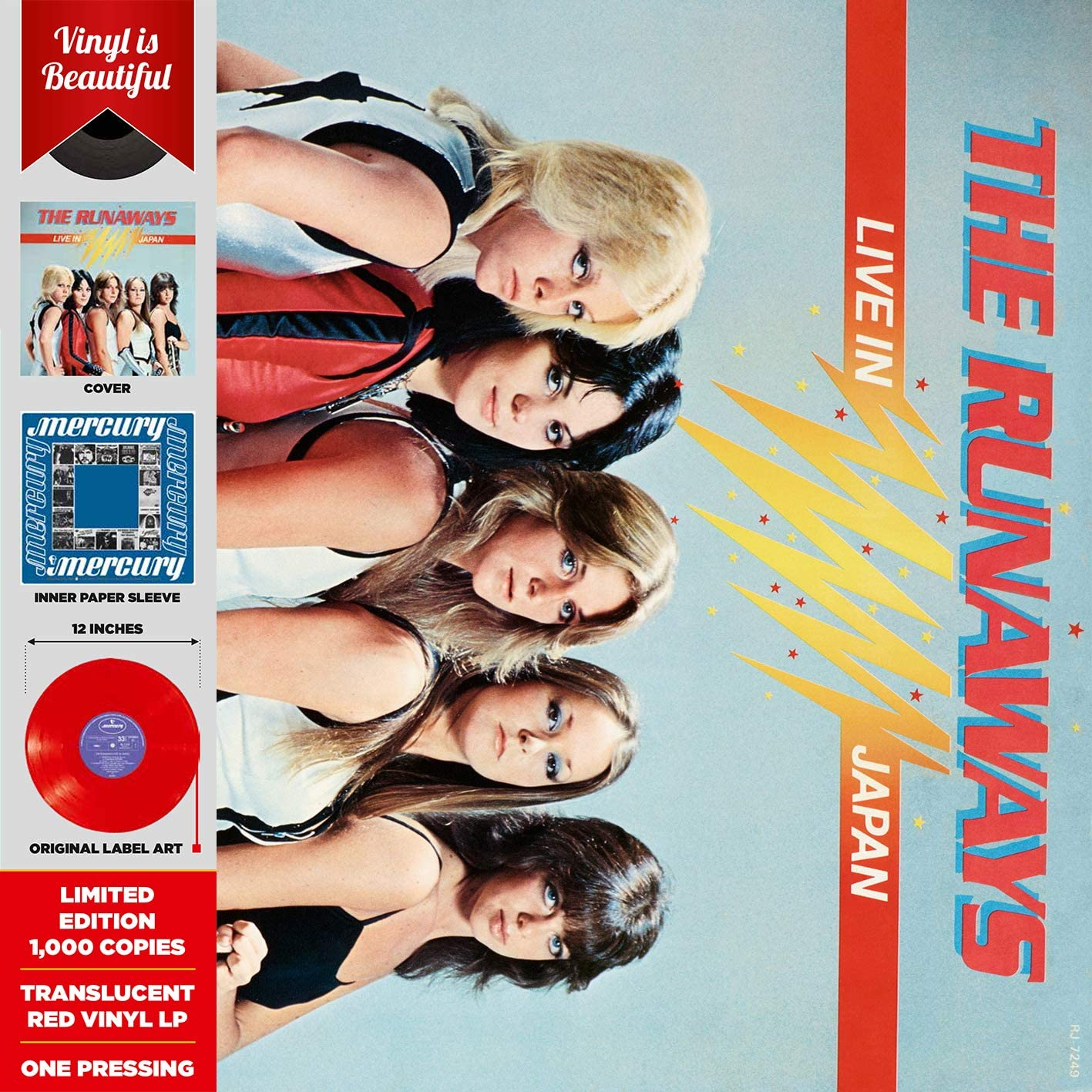 Runaways/Live In Japan [LP]