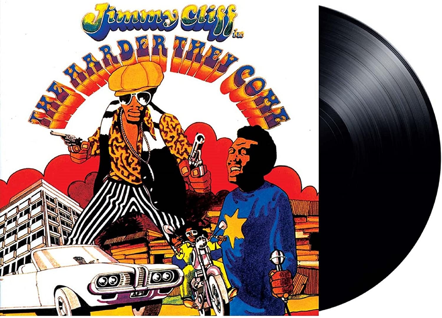 Soundtrack/The Harder They Come (Jimmy Cliff) [LP]