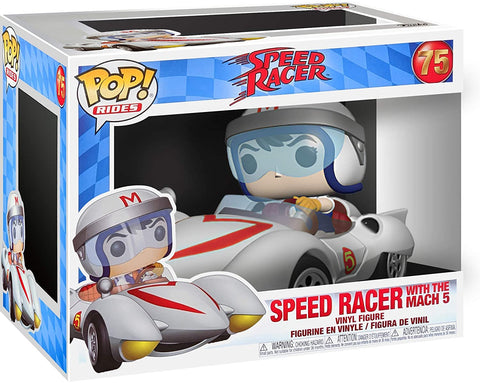Pop! Vinyl/Speed Racer with Mach 5 [Toy]