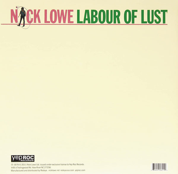 Lowe, Nick/Labour of Lust [LP]