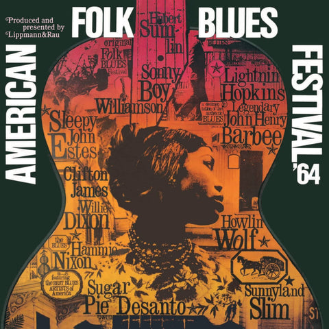 Various Artists/American Folk Blues Festival 1964 (Audiophile Pressing) [LP]