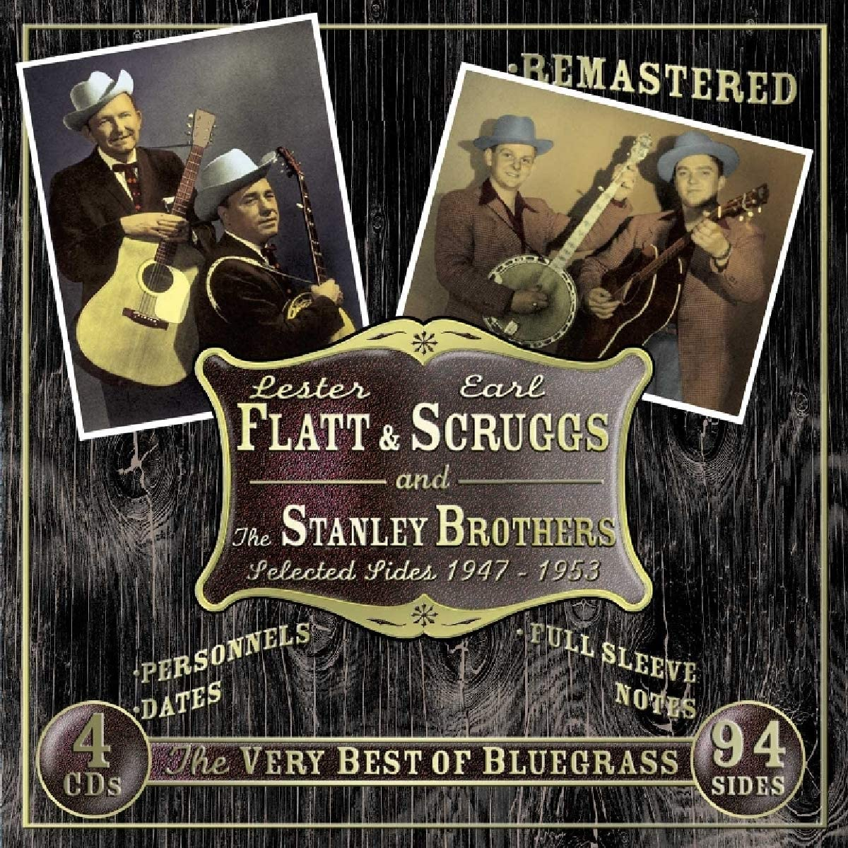 Flatt & Scruggs +Stanley Brothers/1947-1953 (4 CD Box) [CD]