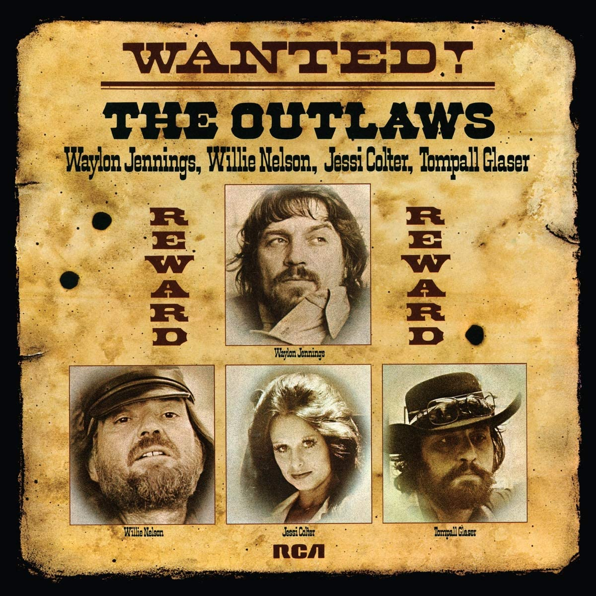 Jennings/Nelson/Colter/Wanted! The Outlaws [LP]