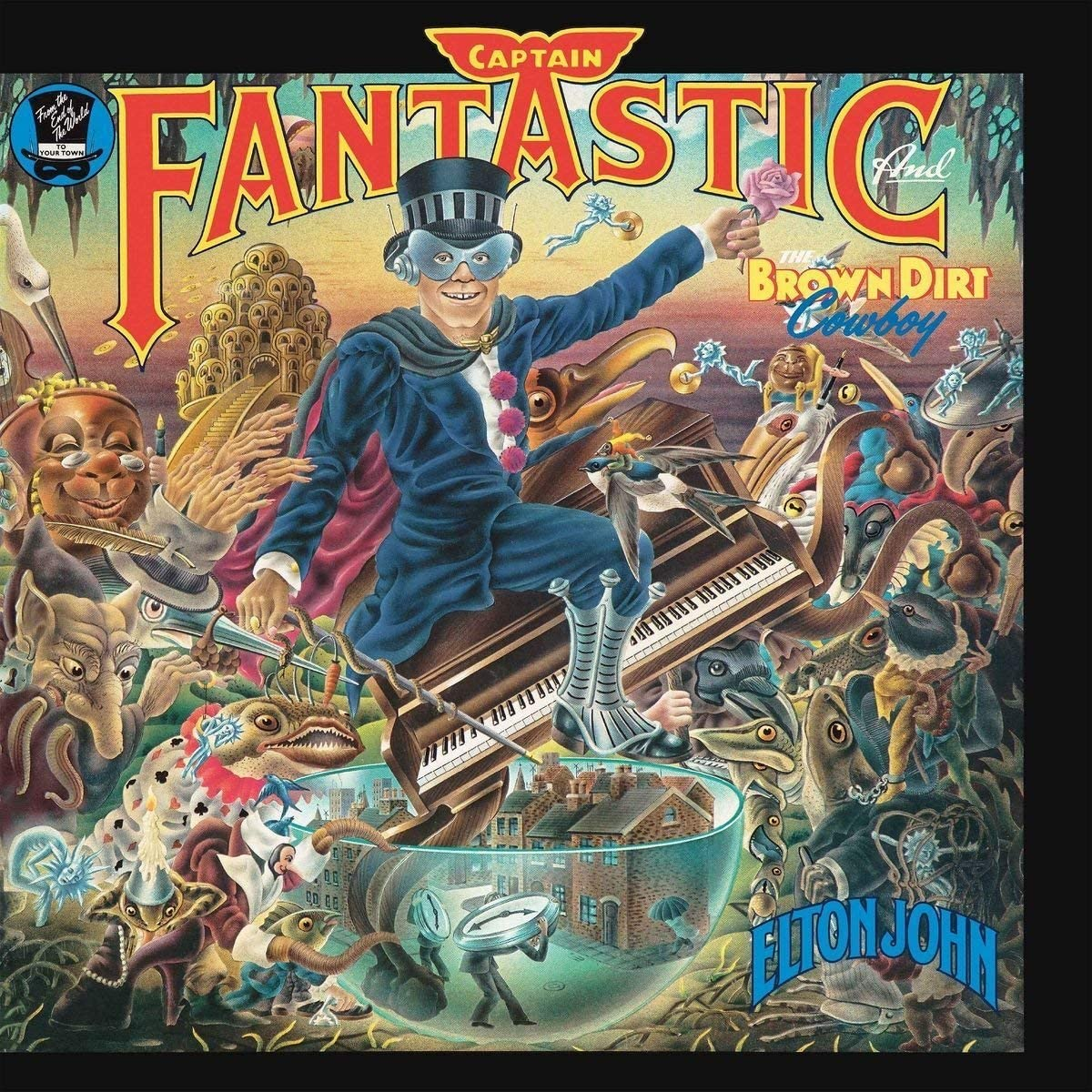 John, Elton/Captain Fantastic And The Brown Dirt Cowboy [CD]