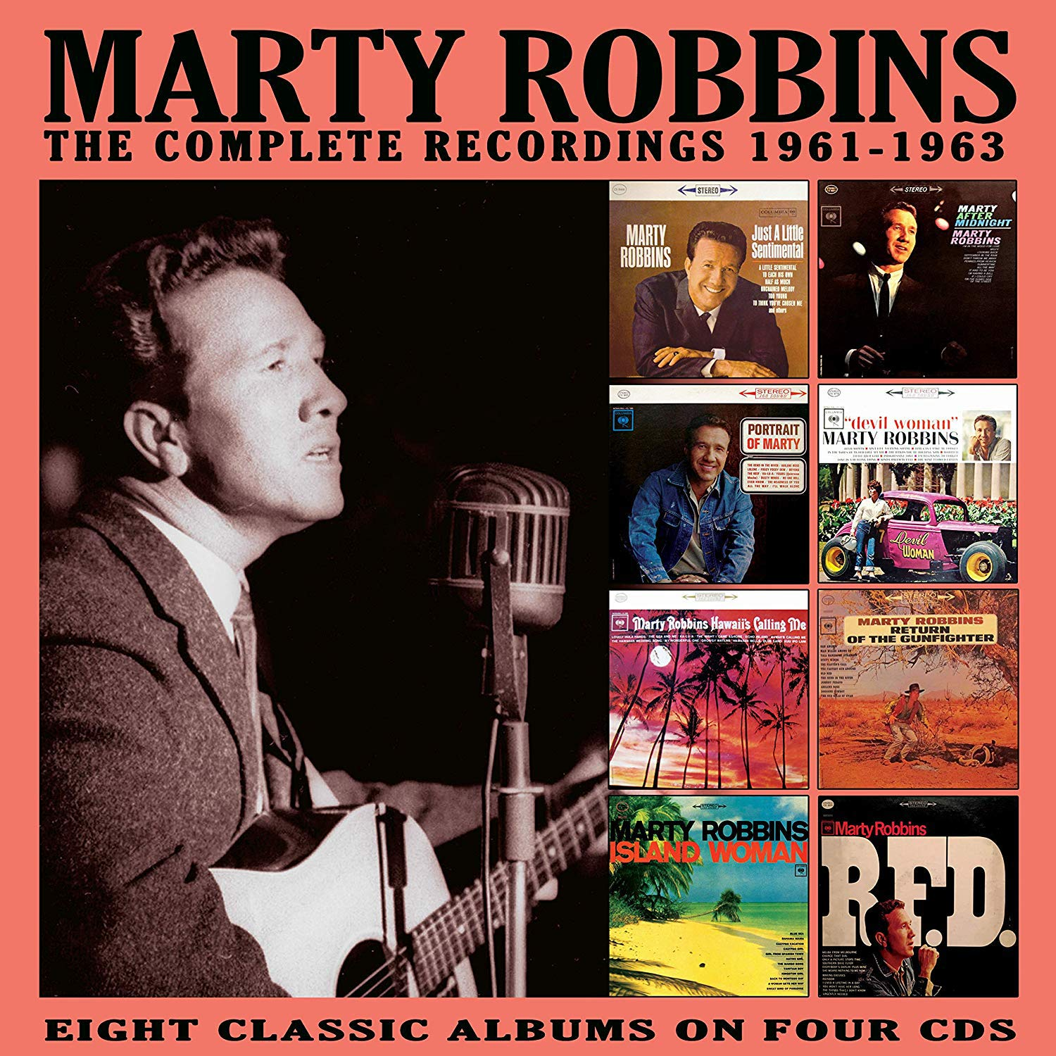 Robbins, Marty/Complete Recordings 1961-1963 [CD]