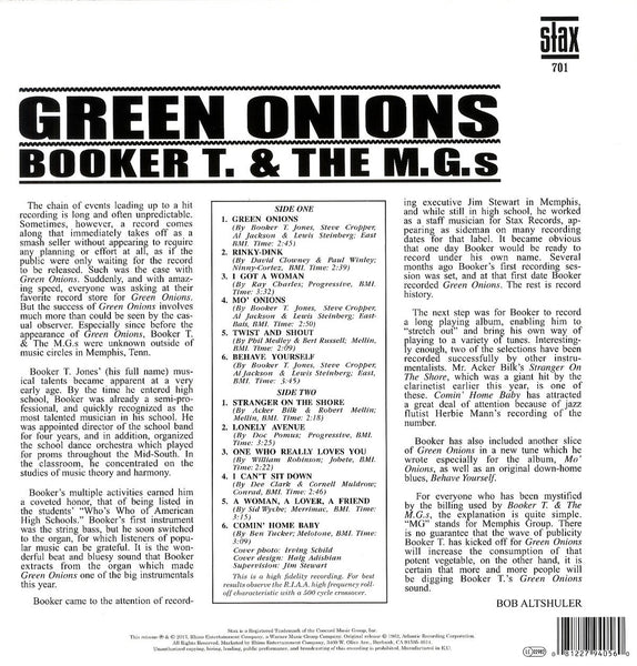 Booker T & The M.G's/Green Onions [LP]