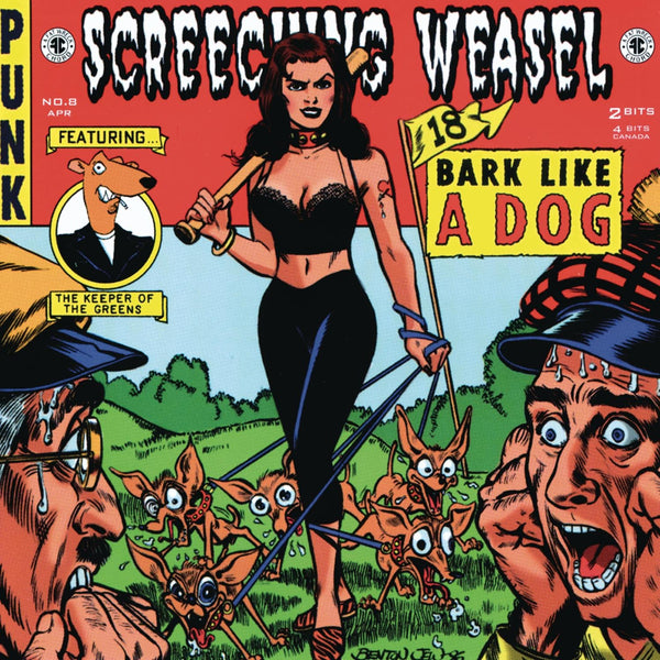 Screeching Weasel/Bark Like A Dog [CD]
