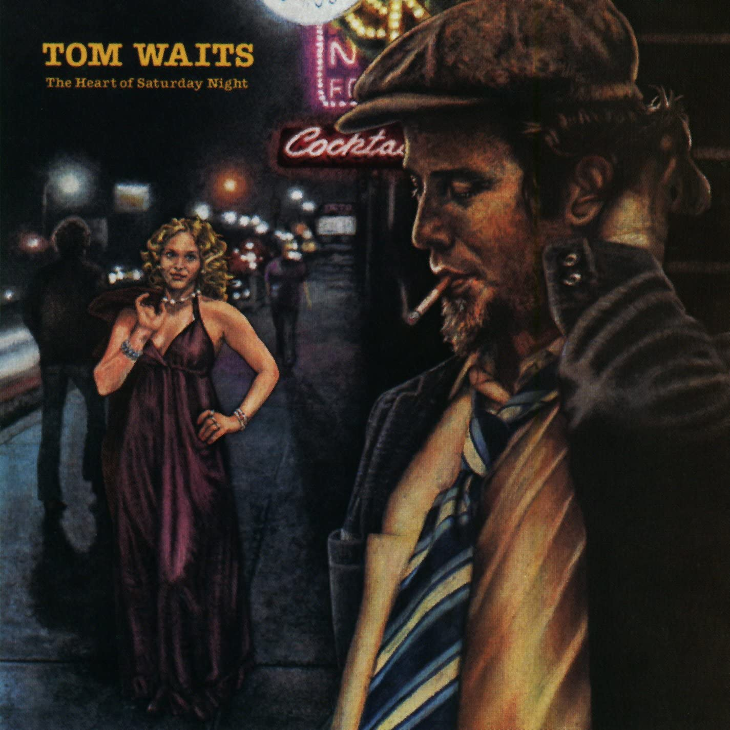 Waits, Tom/The Heart Of Saturday Night (Colour Vinyl) [LP]