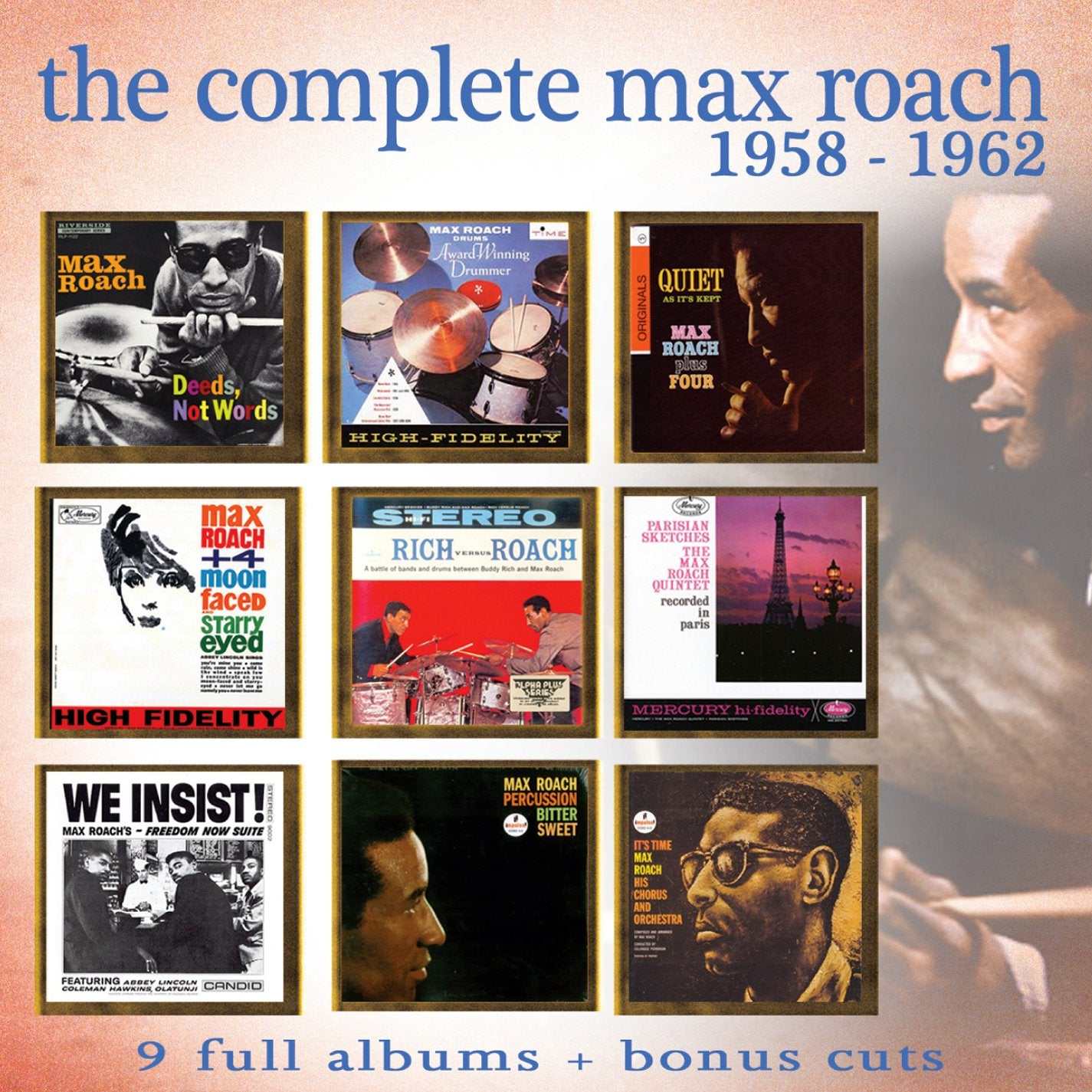 Roach, Max/Complete Max Roach 1958-1962 (4 Disc) [CD]