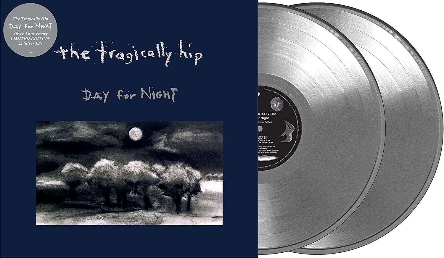Tragically Hip, The/Day For Night (25th Ann. Silver Vinyl) [LP]