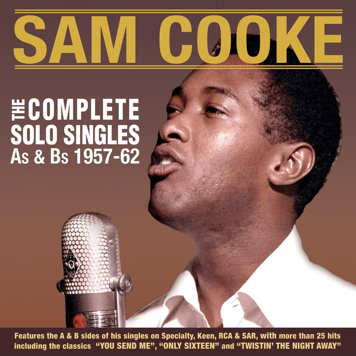 Cooke, Sam/The Complete Solo Singles A's & B's 1957 - 1961 [CD]