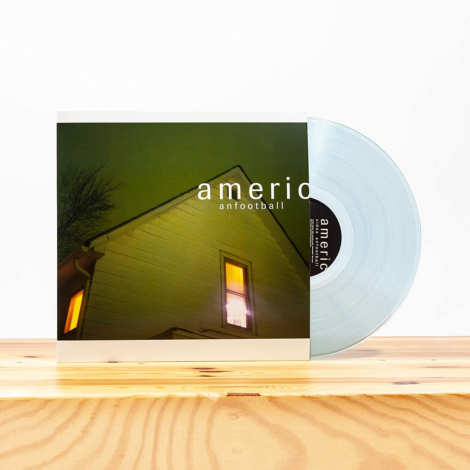 American Football/American Football (Clear with Blue Smoke Vinyl) [LP]