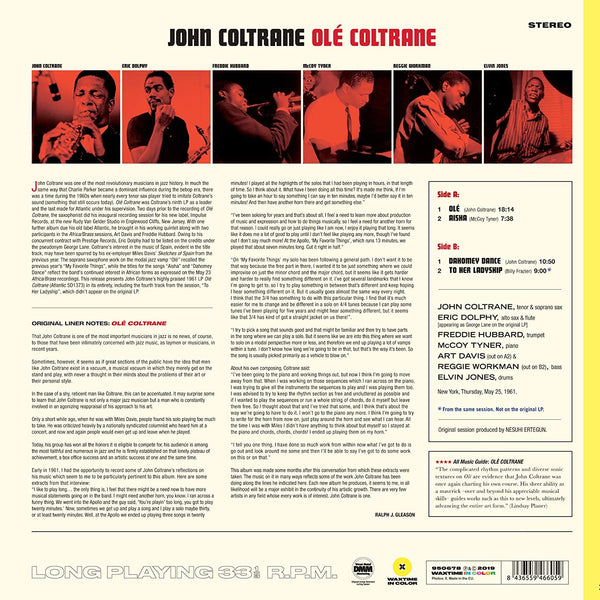 Coltrane, John/Ole Coltrane - Complete Session (Yellow Vinyl) [LP]